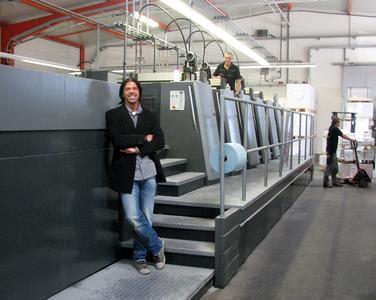 Walter Meyer, Geschäftsführer Onlineprinters GmbH, ist im E-Business erfolgreich