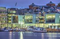 DNB Bürogebäude, Bergen, Norwegen Pilkington Optilam™ Pilkington Suncool™ 70/35 Pilkington Pyrostop® Pilkington Optitherm™ S3 Pilkington Optiphon™ Therm S3 Pilkington Suncool Optilam™ 70/35