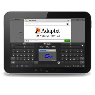 KeyPoint Technologies takes predictive texting to the next level, releases Adaptxt® Tablet Beta 1.0 for android tablets