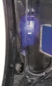 """Der APS3D scannt auch """"on-the-fly"""", bei bewegtem Objekt, und eignet sich damit besonders für hochautomatisierte Fertigungsstraßen"""