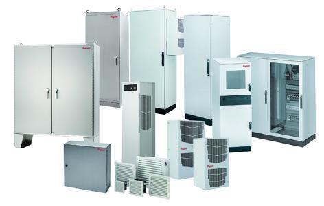 Hoffman Industrieschrank plus Hoffman Kühlgerät: Optimal abgestimmt auf die Applikationen