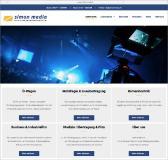 Neue Homepage für den Medien- und Ü-Wagen-Dienstleister SIMON MEDIA