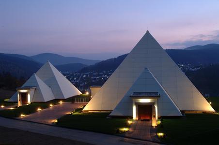 Abendstimmung der Sauerlandpyramide