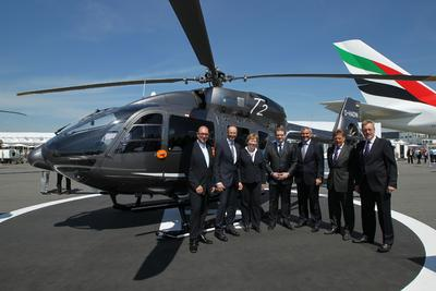 ADAC Luftfahrt Technik and Airbus Helicopters sign parts-by-the-hour contract for EC145 T2 fleet