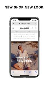 novomind iSHOP ermöglicht eine optimale Darstellung aller Shop-Bereiche im Full Responsive Design auf allen Endgeräten / Copyright: HALLHUBER