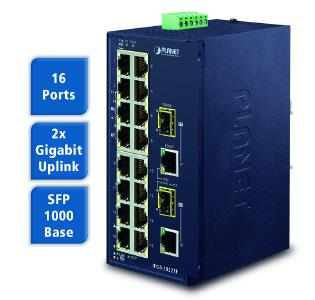 Spectra IFGS 1822TF Industrieller Ethernet Switch