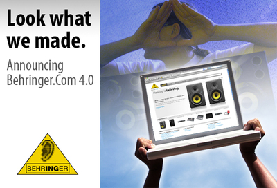 BEHRINGER Launches New Identity