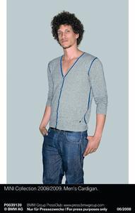 MINI Collection 2008/2009. Men's Cardigan (06/2008)