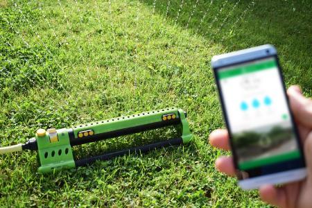 Smarte Bewässerung