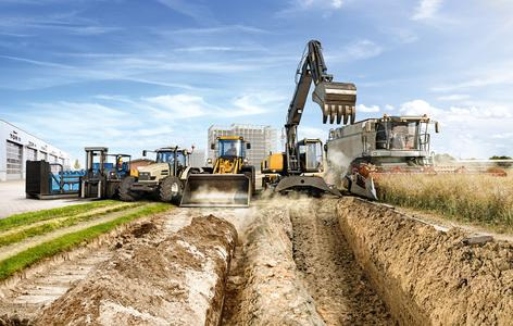 Technologies for the construction industry, agricultural technology, and the handling of material: Continental's components and systems make off-highway applications safer, more efficient, cleaner, and more comfortable / Photo: Continental