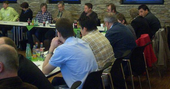 Teilnehmerrunde Workshop Fachtagung 2012