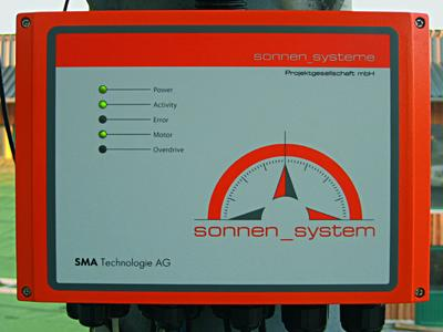 The SOLTRK control from SMA is one of its main components.
