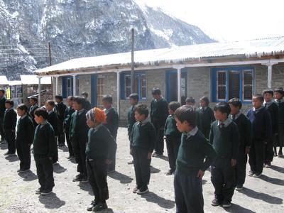 Mandala Schule Langtang