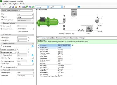 BITZER adds R515B to BITZER software