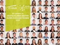 Aktuelle Auszubildende der IT-HAUS GmbH Bildquelle: IT-HAUS GmbH