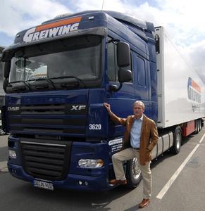 Klaus Beckonert, Geschäftsführer von Greiwing Logistik