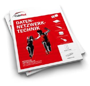 CobiNet präsentiert neuen Katalog für Datennetzwerktechnik und FttX