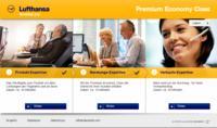Reisebüros machen sich mit M.I.T Lernprogramm für die neue Lufthansa Premium Economy fit