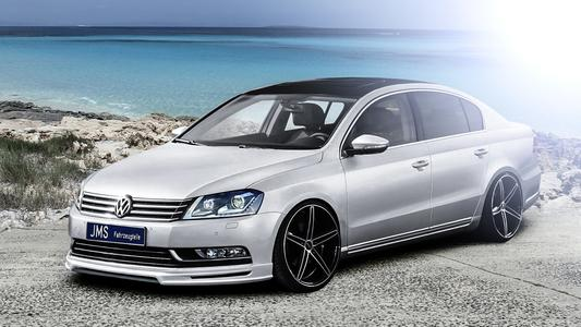 The passat 3cB7 with new styling
