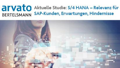 S/4 HANA-Studie: Relevanz für SAP Kunden, Erwartungen und Hindernisse