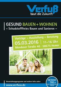 Die Info-Veranstaltung am 5. März richtet sich an Bauherren und Eigenheimbesitzer, aber auch an Architekten, Planer und andere Wohnbau-Profis