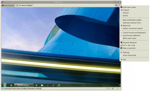 Screenshot AnyDesk für Linux_3