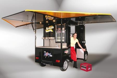 FreddyMobil - Ausschankwagen auf Basis des Aixam Mega