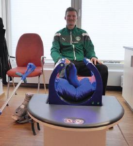 MBST-Therapie unterstützt Heilungsprozess bei Philipp Weber