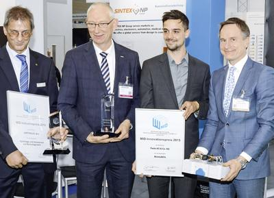 BionicANTs gewinnen MID-Innovationspreis 2015