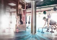 Luftreiniger youvee im Fitnessstudio