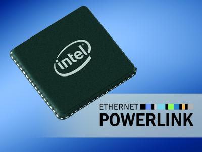 POWERLINK speeds up with Intel® controller
