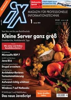 Das Titelbild der aktuellen iX Ausgabe