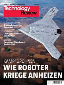 Das Titelbild der aktuellen Technology-Review-Ausgabe 5/2012