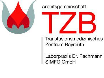 Logo Transfusionsmedizinisches Zentrum Bayreuth