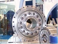 Fine Cyclo-Präzisionsgetriebe mit Hohlwelle aus der neuen F2C-Serie.