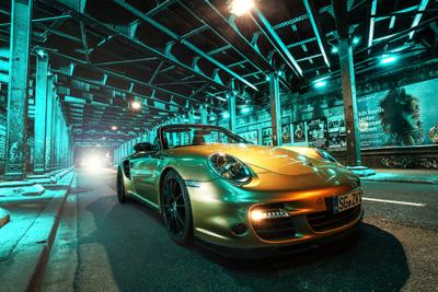PORSCHE 997 TURBO in WIMMER RST style with 840 HP