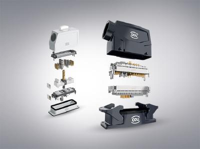 Modular diversity – Extended range of connector housings for the ODU-MAC®