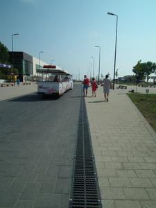 Der Badeort Mamaia zieht viele Touristen an