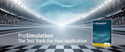 Engineering 4.0: Die neu entwickelte Software ProSimulation ermöglicht Kunden den Sofort- Einstieg in die Simulationswelt. Das neue Tool vereinfacht die virtuelle Auslegung, Optimierung und Inbetriebnahme von Maschinen und Anlagen. Darüber hinaus kann jeweils im Unternehmen für die Zukunft dringend benötigtes Simulations-Know-how und damit Kompetenz in den Bereichen Industrie 4.0 und Digitaler Zwilling aufgebaut werden