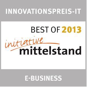 Seit 2004 verleiht die Initiative Mittelstand jährlich auf der weltweit größten Computermesse CeBIT den Innovationspreis-IT für die innovativsten und mittelstandsgeeignetsten IT-Lösungen und -Produkte