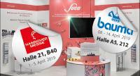 Hannover Messe und bauma 2019