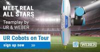 "WEBER with Universal Robots ""Cobots Live on tour"""