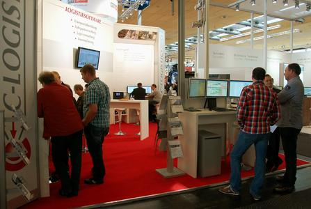 C-Logistic IAA-Messestand