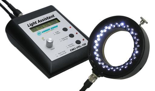 Light Assistant Steuergerät und LED-Ringlicht