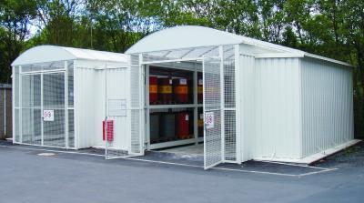 PROTECTO Gefahrstofflager Beton