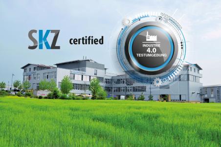 Vor Kurzem wurde das SKZ als offizielle Testumgebung für Industrie 4.0 vom Bundesministerium für Bildung und Forschung (BMBF) testiert