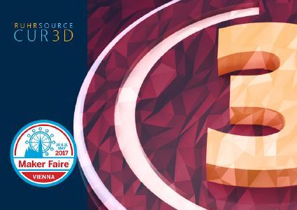 RUHRSOURCE CUR3D Maker Edition auf der Maker Faire Vienna