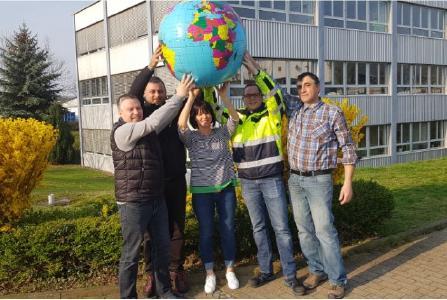 Das Umweltteam von Losberger De Boer trägt Verantwortung