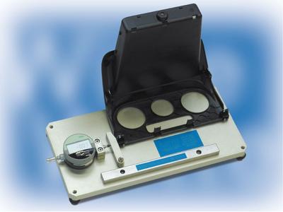 High-tensile aluminium gauges with dial gauges