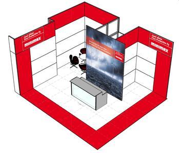 WindEnergy Hamburg 2014 – Minimax in Halle 3, Stand E22